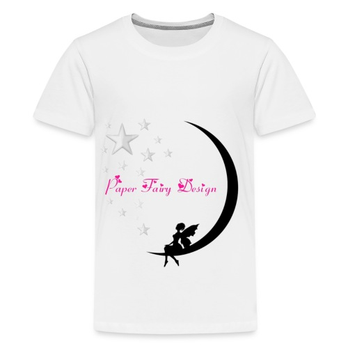 Paper Fairy Design - Teenager Premium T-Shirt