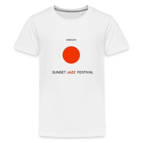 Sunset 2018 chiari - Maglietta Premium per ragazzi