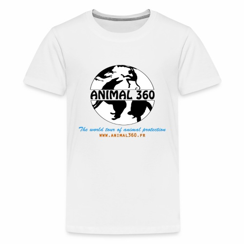 Animal360.fr - T-shirt Premium Ado