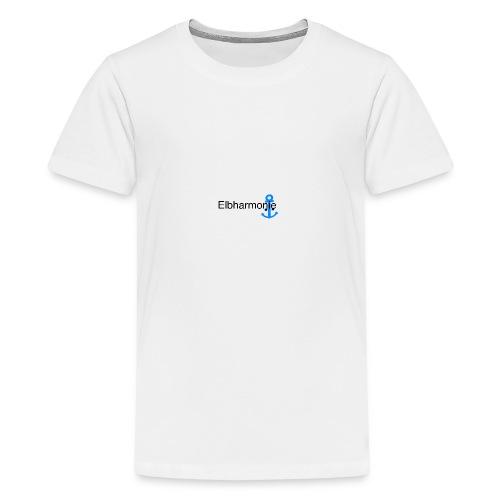 Elbharmonie - Teenager Premium T-Shirt