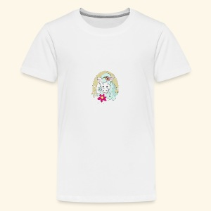 Eseldame Elsa No.2 - Teenager Premium T-Shirt