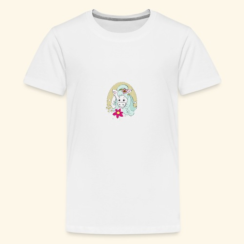Eseldame Elsa No.2 - Teenager Premium T-Shirt