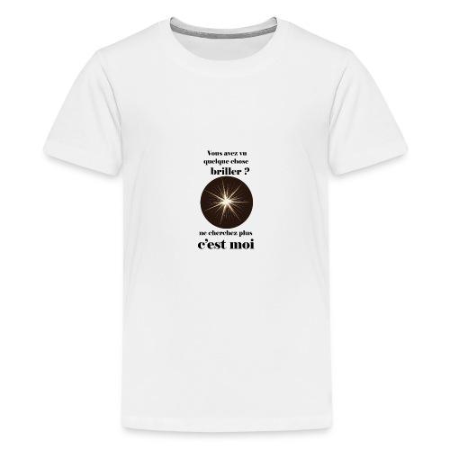 Lorgnette brillant ...amoureux ou inspiré FC - T-shirt Premium Ado
