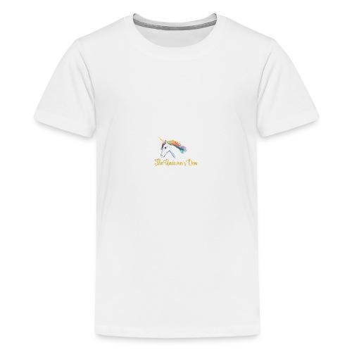 unicorn - Teenage Premium T-Shirt