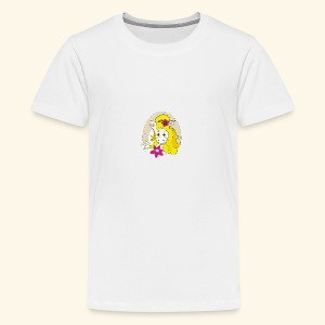 Eseldame Elsa_No.1 - Teenager Premium T-Shirt