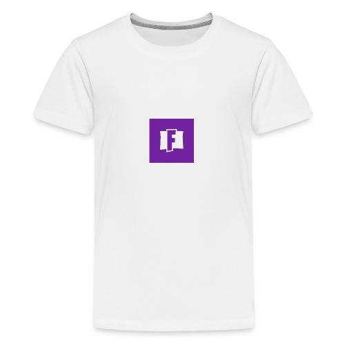 Fortnite logo - Teenage Premium T-Shirt