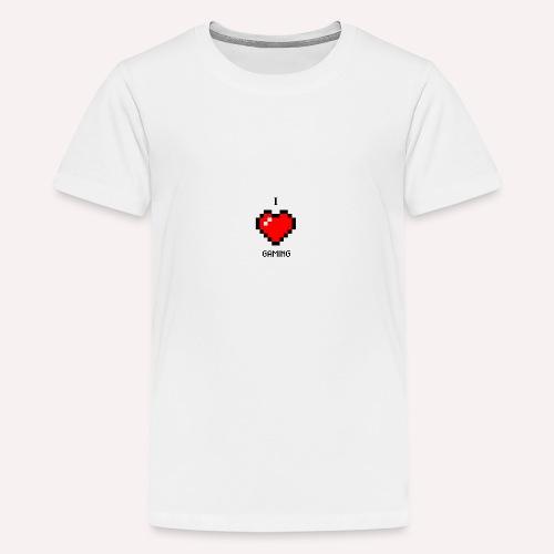 I Love Gaming - Teenager Premium T-Shirt