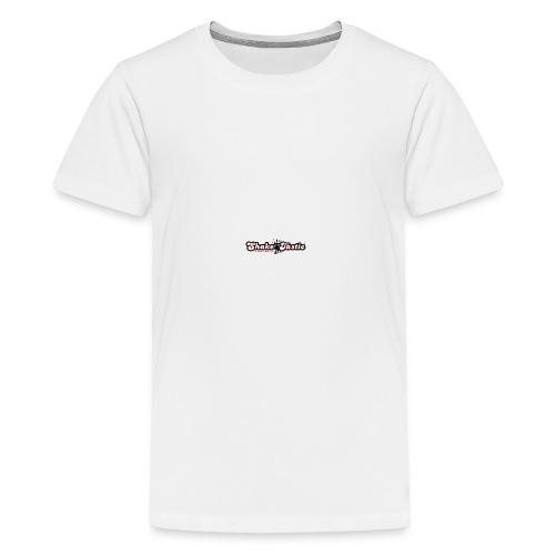 shaketastic logo who red - Teenage Premium T-Shirt
