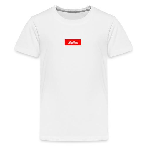 Mattso Merch to Flex - Teenage Premium T-Shirt