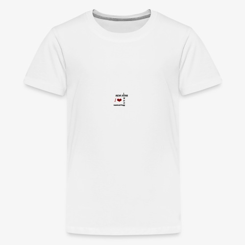 I love New York Mode - Teenager Premium T-Shirt