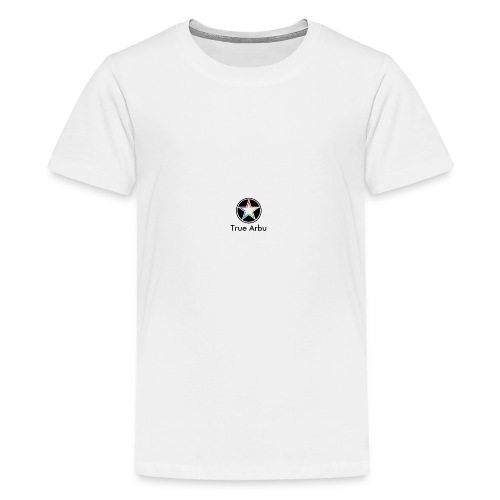 True Arbu Logo - Teenage Premium T-Shirt