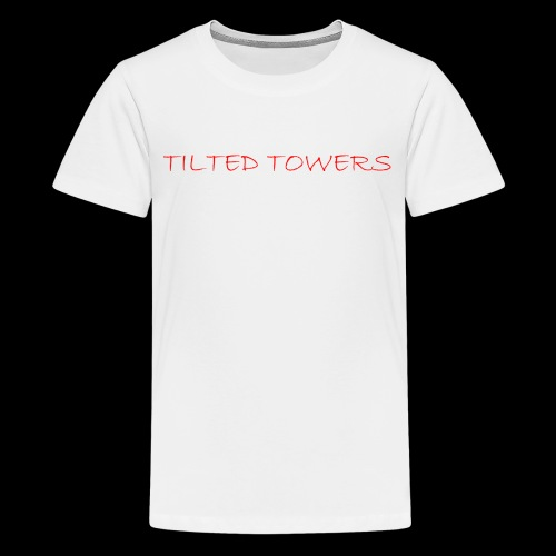 Tilted Towers - Teenager Premium T-Shirt