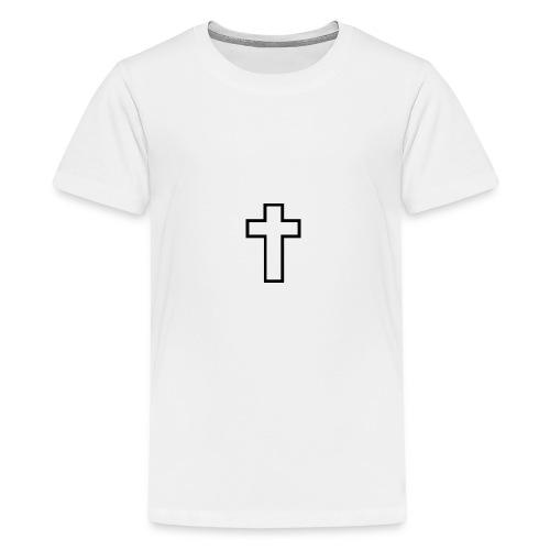 Kreuz - Teenager Premium T-Shirt