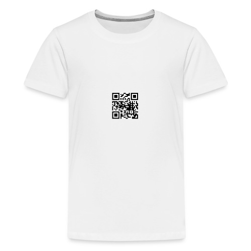 QR Code - Teenager Premium T-Shirt