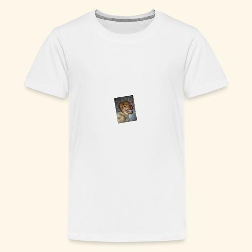 snäll hunden - Premium-T-shirt tonåring