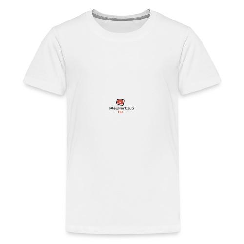 PlayForClub HD - T-shirt Premium Ado