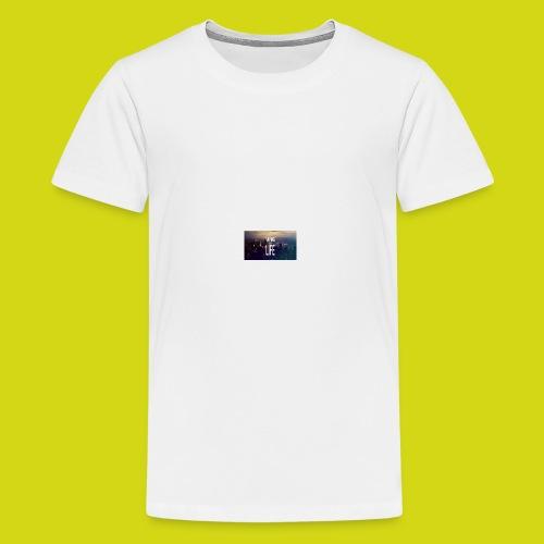 VAPE LIFE - Teenage Premium T-Shirt