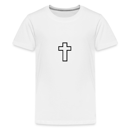 Kreuz - Teenager Premium T-Shirt