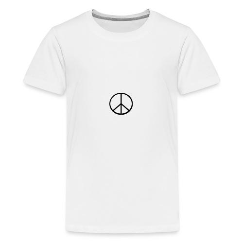 peace - Premium-T-shirt tonåring