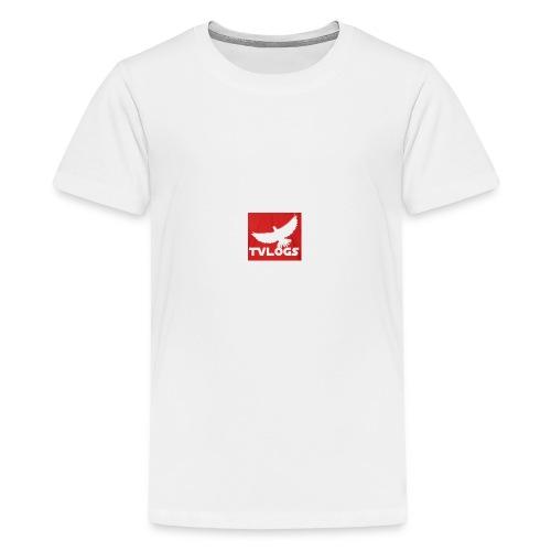 TomVlogs Logo - Teenage Premium T-Shirt