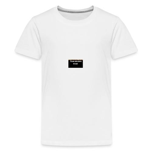 T-shirt staff Delanox - T-shirt Premium Ado