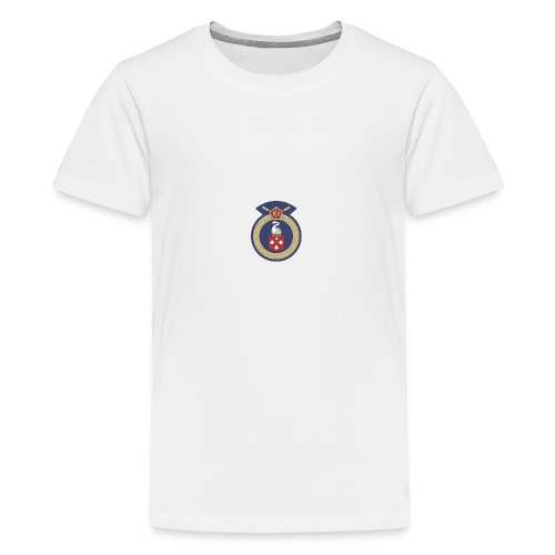 13 Eastleigh Badge White - Teenage Premium T-Shirt