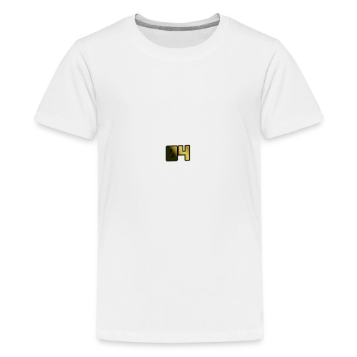OllyTV 04 Logo design - Teenage Premium T-Shirt