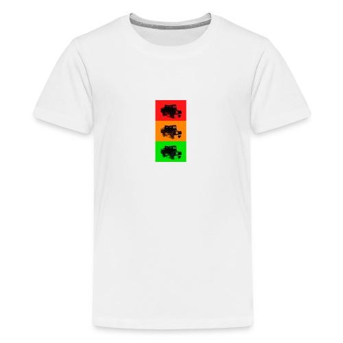 Retro Land-Rover - Teenage Premium T-Shirt