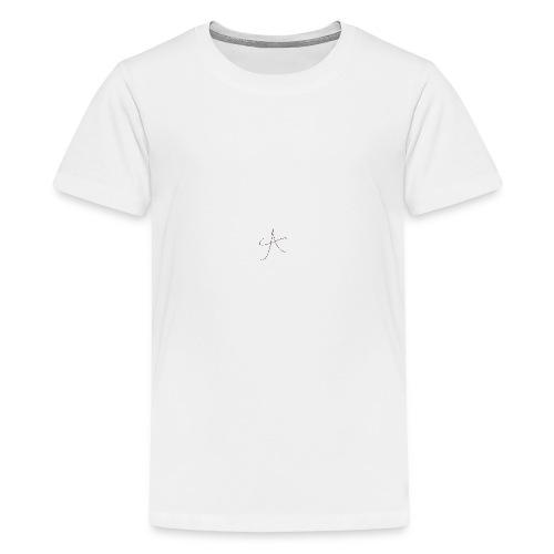 cool A PNG - Teenage Premium T-Shirt