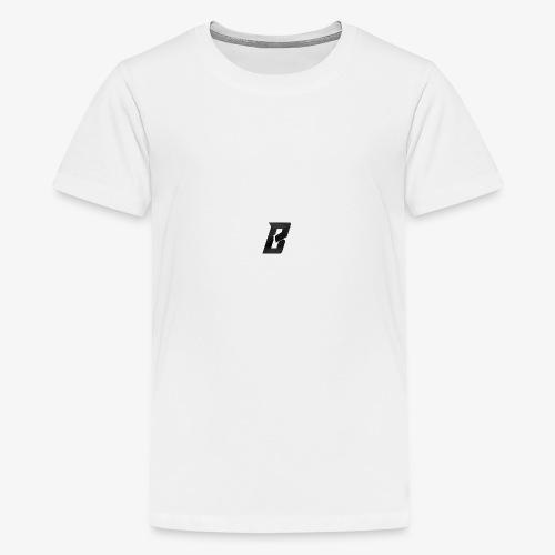 Black PNG Icon - Premium T-skjorte for tenåringer