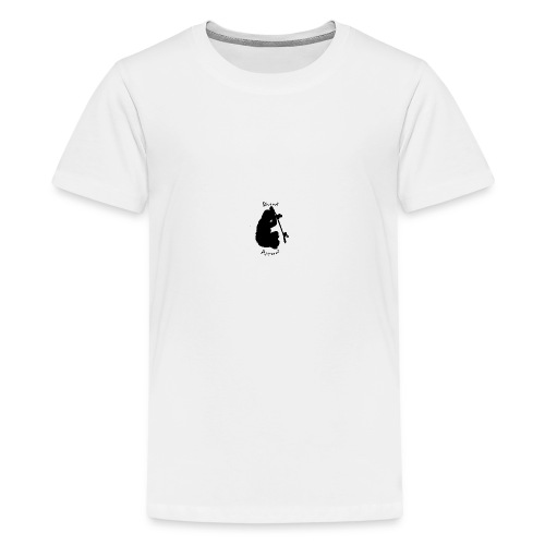 black bored apparel logo - Teenage Premium T-Shirt
