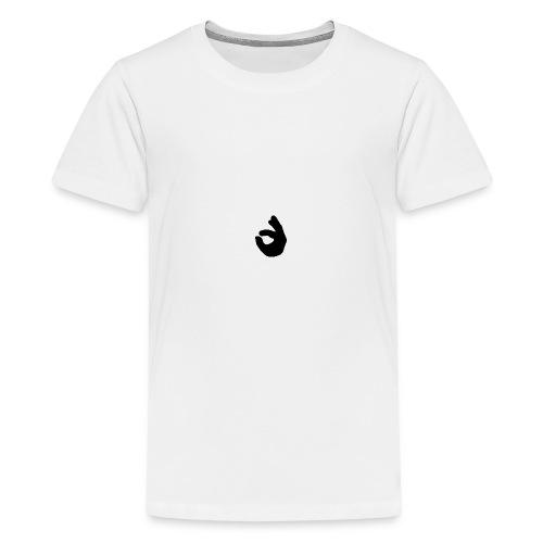 creme de la drengerøv - Teenager premium T-shirt