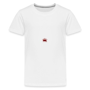 Red BGC Crown - Teenage Premium T-Shirt