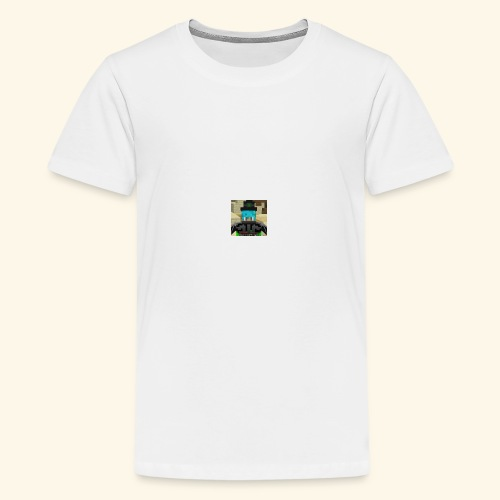 DerBoss Profilbild - Teenager Premium T-Shirt