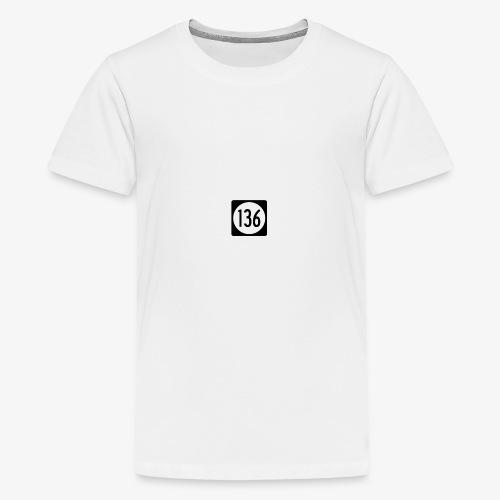 136 - Maglietta Premium per ragazzi