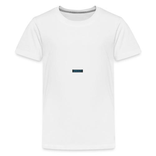 GREEZY MERCH LOGO - Teenage Premium T-Shirt