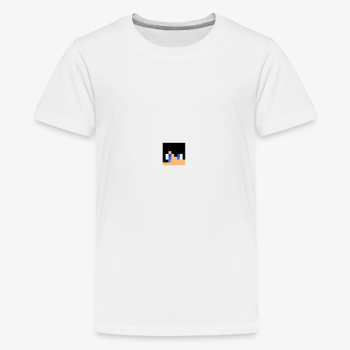 JK Gaming's Minecraft Head - Teenage Premium T-Shirt