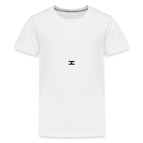 X Logo Transparent - Teenage Premium T-Shirt