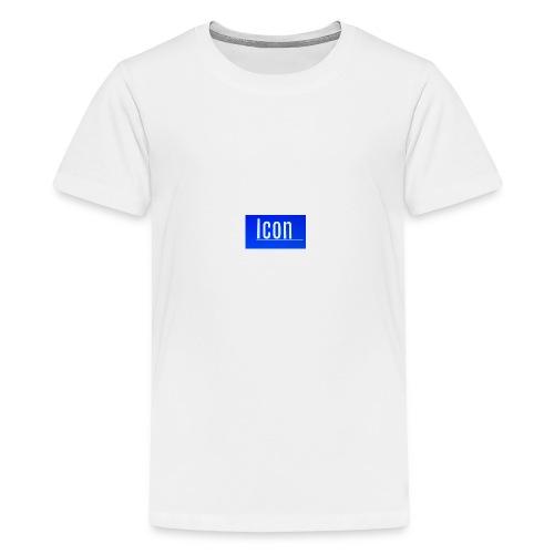 Icon kids small logo tshirt - Teenage Premium T-Shirt