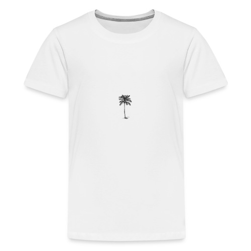 palm bly - Premium-T-shirt tonåring