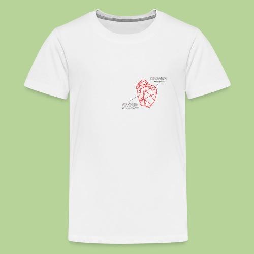 PeperoneCol - Maglietta Premium per ragazzi