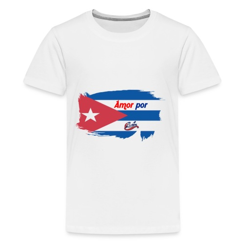 Amor Por Cuba - Maglietta Premium per ragazzi
