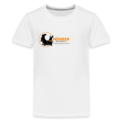Möhren sind orange e.V. - Teenager Premium T-Shirt