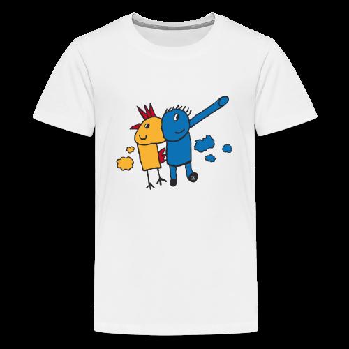 Gallifante - Camiseta premium adolescente