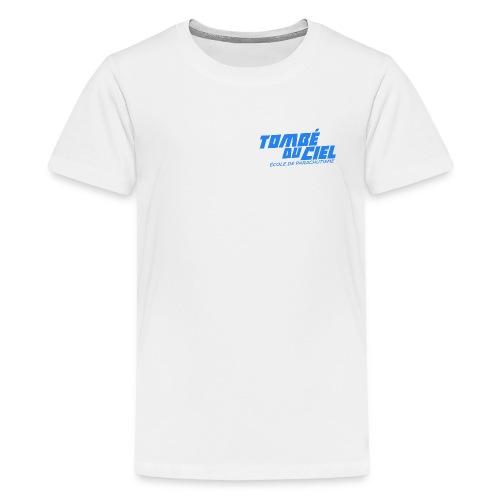 Logo TDC BLEU 2018 - T-shirt Premium Ado