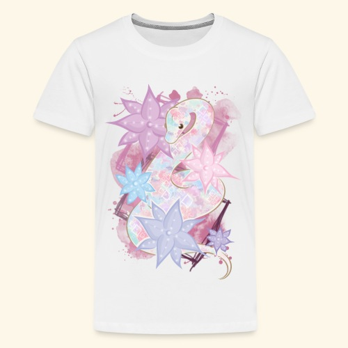 GirlySnake - T-shirt Premium Ado