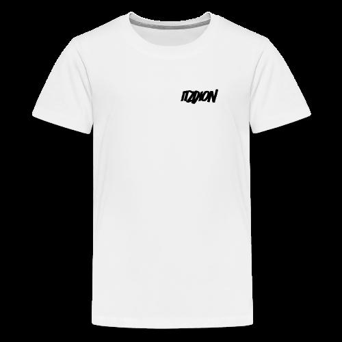 Original ItzDion design - Teenage Premium T-Shirt