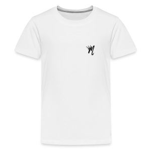 ItzManzey (OFFICIAL WHITE TOPS AND HOODIES) - Teenage Premium T-Shirt