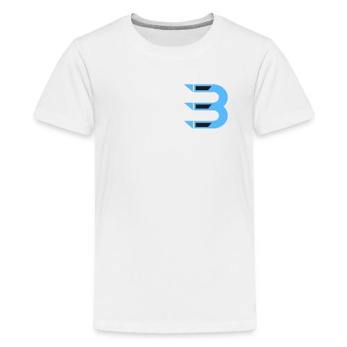 Boiz clan logo png - Premium-T-shirt tonåring