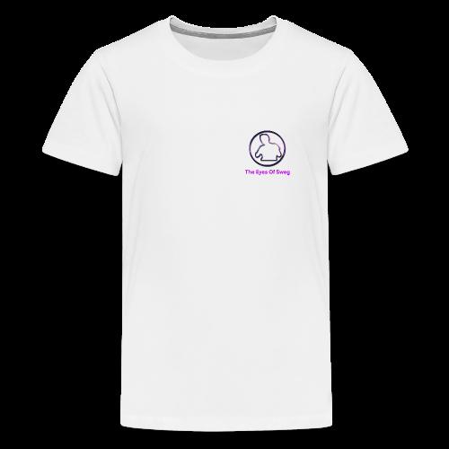 Galaxy Logo - Teenage Premium T-Shirt